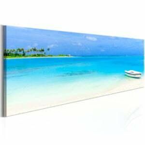 Wandbild - Azure Paradise