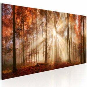 Wandbild - Autumnal Dawn