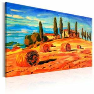 Wandbild - August in Tuscany