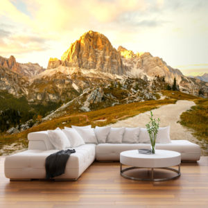 Fototapete - Beautiful Dolomites