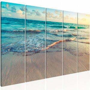 Wandbild - Beach in Punta Cana (5 Parts) Narrow