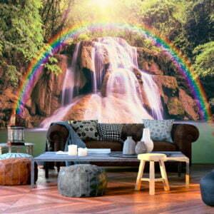 Fototapete - Magical Waterfall