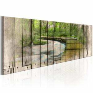 Wandbild -  The River of Memories