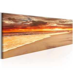 Wandbild - Beach: Beatiful Sunset