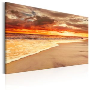 Wandbild - Beach: Beatiful Sunset II