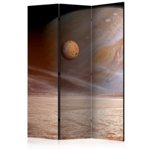 3-teiliges Paravent - A small and a big planet [Room Dividers]