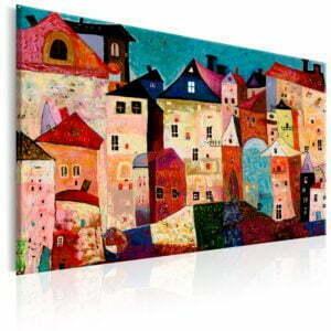 Wandbild - Artistic City