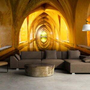 Fototapete - The Golden Corridor