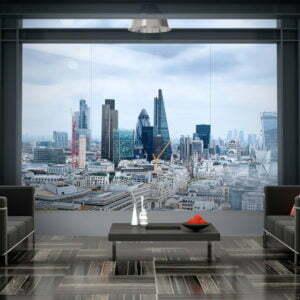 Fototapete - City View - London