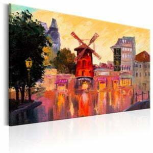 Wandbild - Urban Mill