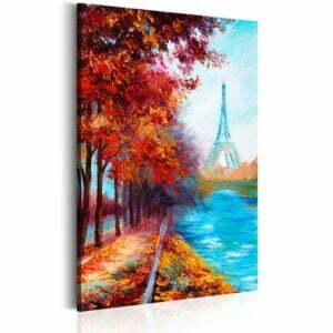 Wandbild - Herbst in Paris