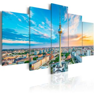 Wandbild - Berlin TV Tower, Germany