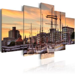 Wandbild - Port of Hamburg