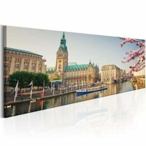 Wandbild - Hamburg Town Hall