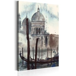 Wandbild - Watercolour Venice