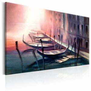 Wandbild - Early Morning in Venice