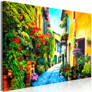 Wandbild - Beautiful Street (1 Part) Wide