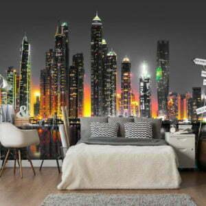 Fototapete - Desert City (Dubai)