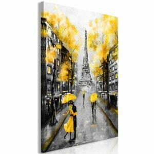 Wandbild - Autumn in Paris (1 Part) Vertical