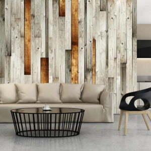 Fototapete - Holz Design