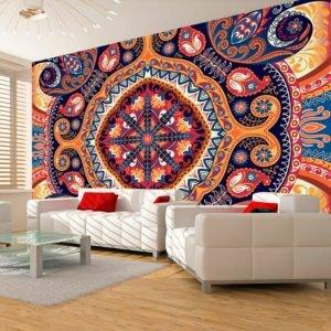 Fototapete - Exotic mosaic