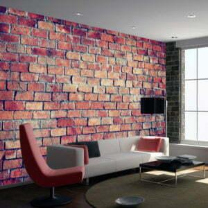 Fototapete - Brick - puzzle
