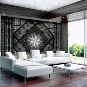 Fototapete - Black mosaic
