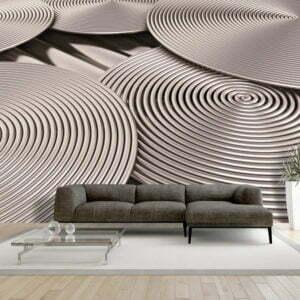 Fototapete -  Copper Spirals
