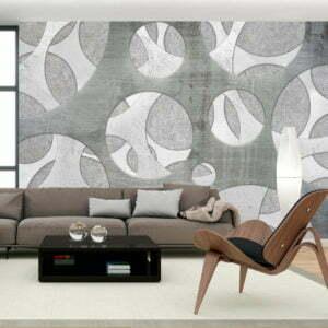 Fototapete - Woven of grays