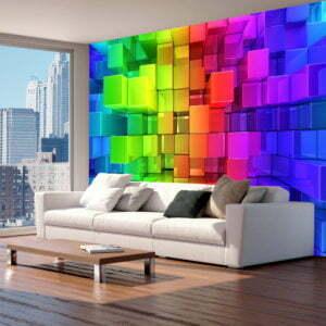 Fototapete - Colour jigsaw