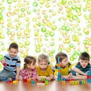 Fototapete -  Fun Bubbles