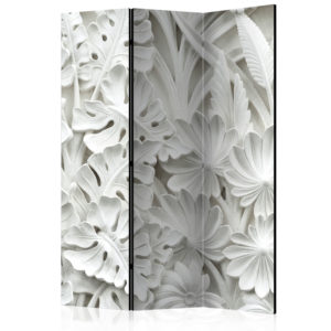 3-teiliges Paravent - Alabaster Garden [Room Dividers]