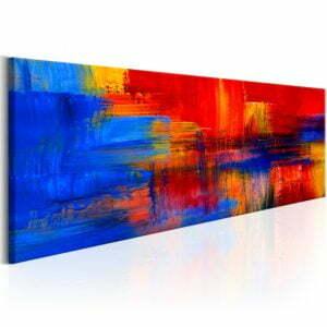 Wandbild - Colour of Passion