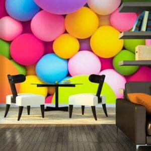 Fototapete - Colourful Balls