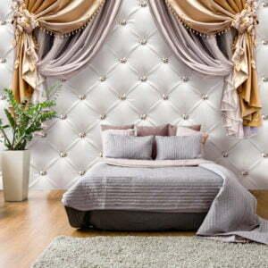Fototapete - Curtain of Luxury