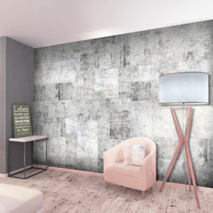 Fototapete - Concrete: Grey City