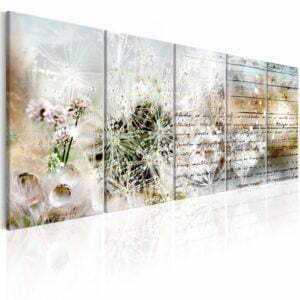 Wandbild - Abstract Dandelions I