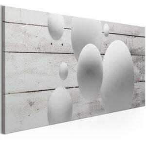 Wandbild - Balls and Boards (1 Part) Narrow