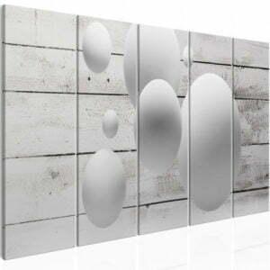 Wandbild - Balls and Boards (5 Parts) Narrow
