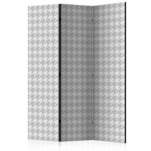 3-teiliges Paravent -  Dogtooth Check [Room Dividers]