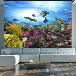 Fototapete - Coral reef