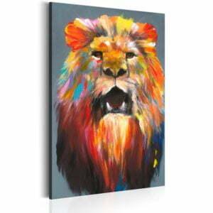 Wandbild - King of Colours