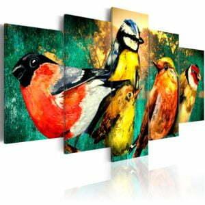 Wandbild - Birds Meeting