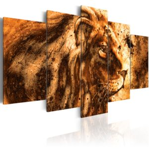 Wandbild - Beautiful Lion