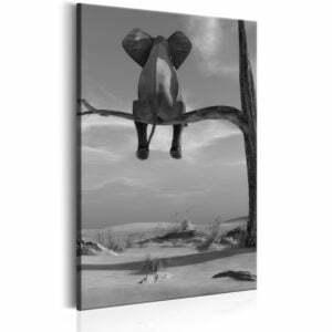 Wandbild - Resting Elephant