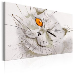 Wandbild - Grey Cat