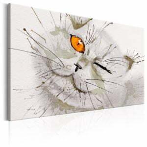 Wandbild - Grey Cat