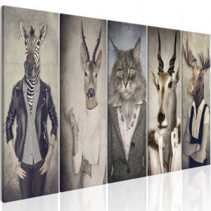 Wandbild - Animal Masks I