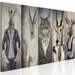 Wandbild - Animal Masks I