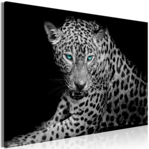 Wandbild - Leopard Portrait (1 Part) Wide